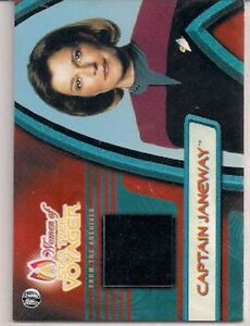 Star-Trek-Women-Of-Voyager-HoloFEX-From-The-Vault-Costume-Card-F2-Capt-Janeway