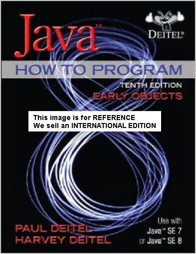 Java How To Program (Early Objects) by Paul J. Deitel, Harvey(Int' Ed Paperback)