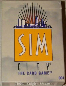 Sim City -Starter Deck-New-Out of Print London Ontario image 1