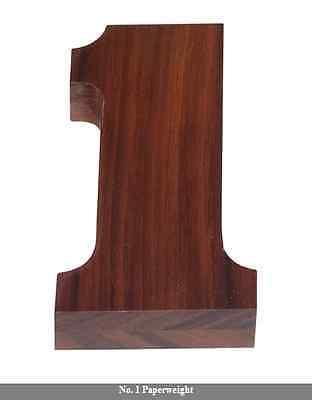 Woodessen Solid Walnut Wood Desk Paperweight 1