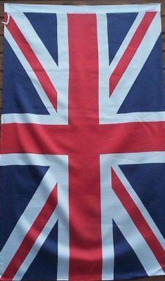 GIANT   BRITISH   FLAG   UNION JACK   5ft x 3ft