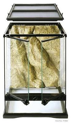"Exo Terra Reptile Glass Natural Terrarium Mini/Tall 12"" x 12"" x 18"""