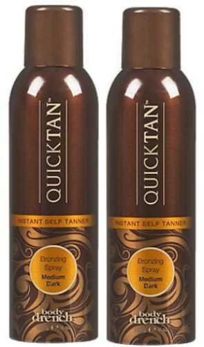 Body Drench Quick Tan Bronzing Spray Medium-Dark 6 Ounce