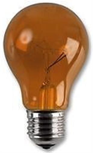 HARLEQUIN LAMP BULB 25W ES AMBER