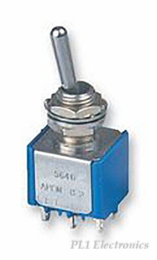 APEM - 5637A - SWITCH, SPDT, CTR OFF