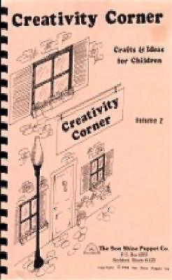 Creativity Corner Books 1&2 Children's Crafts, VBS Teachers , Christian ministry