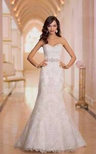 Ivory Stella York 5838 wedding dress