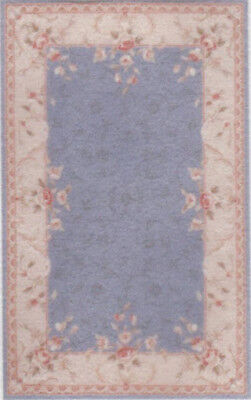 """1:48 Scale Dollhouse Area Rug 0001907 - approximately 1-13/16"""" x 2-7/8"""""""