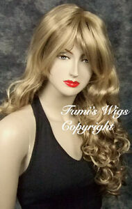 Long-Curly-Blonde-Brown-Mix-Wig-Sleek-Soft-Touch-Natural-Looking