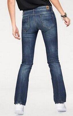 REPLAY Ramean Bootcut Fit Jeans NEU Blue Damen Hose Stretch Denim W27-L32 L32 Fit Bootcut Blue Jeans