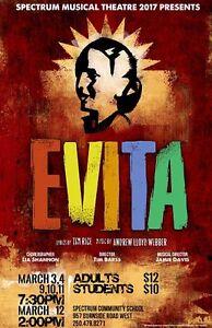 "Spectrum Community School presents ""Evita"""