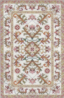 """1:48 Scale Dollhouse Area Rug 0001919 - approximately 1-7/8"""" x 2-7/8"""""""