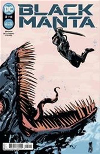 BLACK MANTA #2 (OF 6) DC COMICS GEMINI 10/20/21 NM