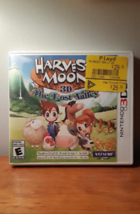 Harvest Moon : The Lost Valley 3Ds