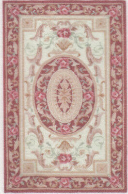 """1:48 Scale Dollhouse Area Rug 0001913 - approximately 1-7/8"""" x 2-15/16"""""""