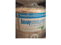 insulation - 9 X 14 m each - ecological - new in bags 185£