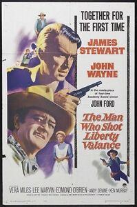 THE-MAN-WHO-SHOT-LIBERTY-VALANCE-POSTER-John-Wayne-RARE