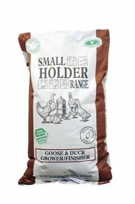 Allen & Page Small Holder Range Goose & Duck Grower Finisher Pellets 20 kg