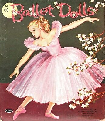 BALLET DOLLS 1957 UNCUT ORIGINAL VINTAGE SET on Rummage