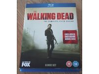 Walking Dead Season 5 Blu Ray DVD