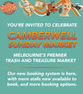 Camberwell Market Stall For Sale | Sunday 22nd October