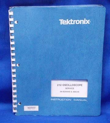 Tektronix 212 Oscilloscope Service Manual