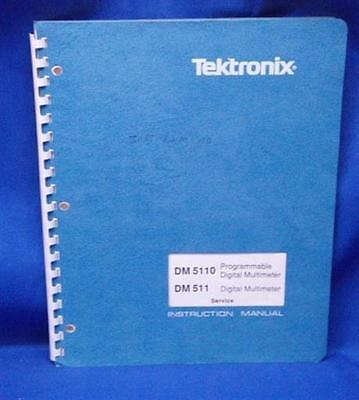 Tektronix Dm5110 Dm511 Prg. Dmm Service Manual