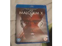 Malcolm x blue ray DVD