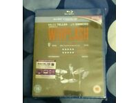 WHIPLASH movie on Blu ray