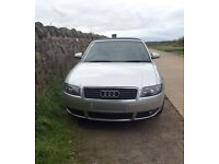 Audi A4 Sport Cabriolet 2.4 petrol, leather interiors, very good condition