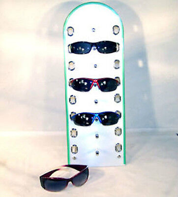 Standing Sunglass Display Rack Retail Store Fixture Counter Stand Up Eyewear New