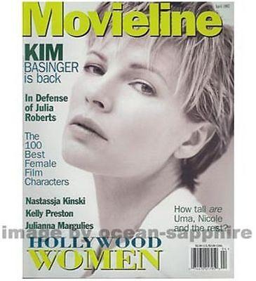 Kim Basinger Julianna Margulies Julia Roberts  Nastassja Kinski 1997 Magazine