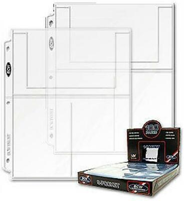 BCW 5.875 X 3.75 Postcard Topload Holder 25 Pack