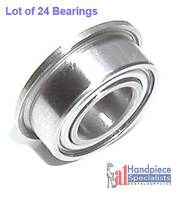 Flanged Dental Bearing For Midwest Turbine - Lot Of 24