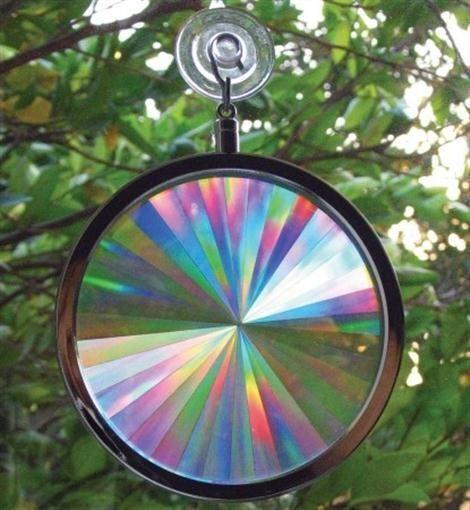 Rainbow Window Holographic Prism