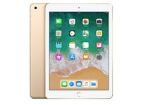 Champagne gold 32GB 9.7 inch iPAD, PRETTY MUCH NEW (BOXED), A9 CHIP, 8MP CAMERA