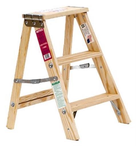 Details About Michigan Ladder 240132 2 Ft Type 3 Wood Step Ladder Silk