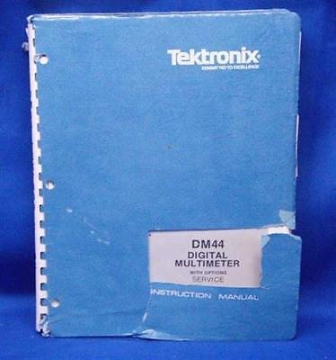 Tektronix Dm44 Dmm Woptions Service Manual