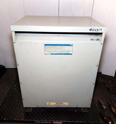 General Electric Isolation Transformer 93 Kva Inv.22317