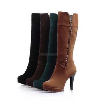 fashion womens comfort high heels stilettos shoes