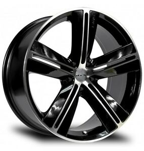 "RTX Sport Rims 18"" 5 lug with 225/55 R18"" tires"