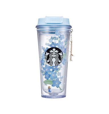 Starbucks 2021 Spring MD Flower Florence Tumbler 473ml Cherry Blossom Cafe Tea