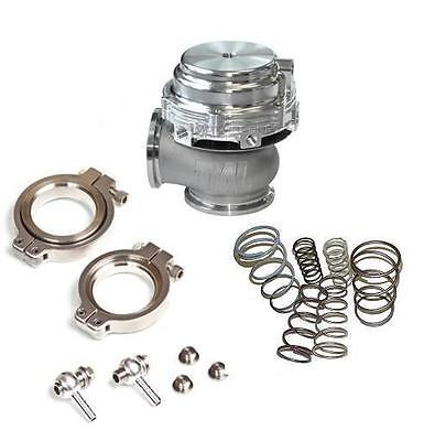 TiAL MVR 44MM WASTEGATE MV R V BAND FLANGES ALL SPRINGS INCLUDED KIT SILVER