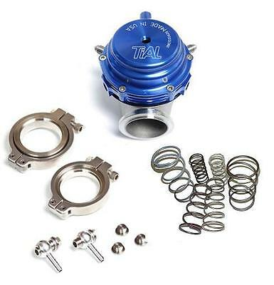 TiAL MVR 44MM WASTEGATE MV R V BAND FLANGES ALL SPRINGS INCLUDED KIT BLUE