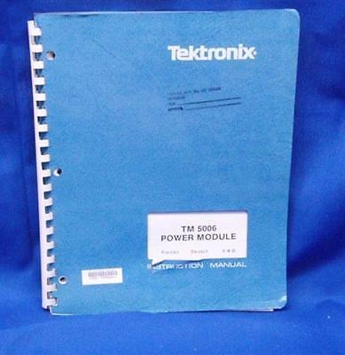 Tektronix Tm 5006 Power Module Manual Wschematics