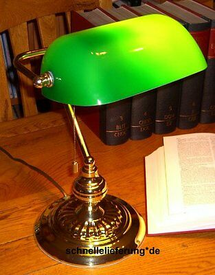 BANKERS LAMP - Bankerlampe Banken Lampe Bankerleuchte