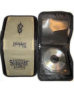 SLIPKNOT CD TASCHE FÜR 24 CD's / Reißverschluß / army - Slipknot Reißverschluss