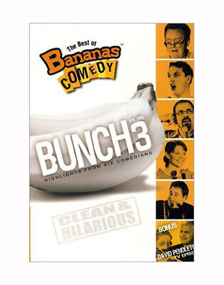 NEW! ~ The Best of Bananas Comedy Bunch Vol. 3 (DVD, 2008) CLEAN FAMILY COMEDY!