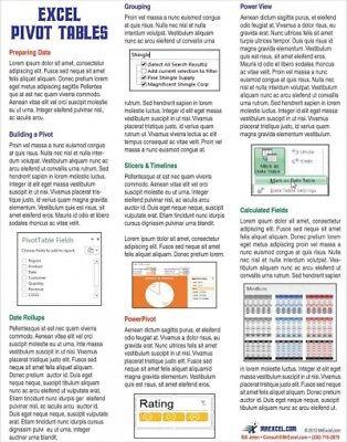 Excel Pivot Tables Tip Card, Paperback by Jelen, Bill, ISBN 1615479953, ISBN-... (Pivot Tables)