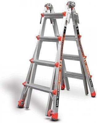 17 1a Revolution Little Giant Ladder Work Platform 12017 Quad-lock Hinge Wheels